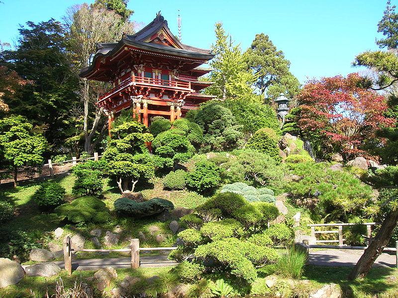 Los bellos jardines japoneses