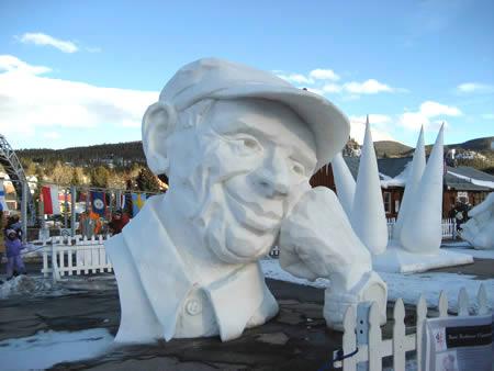 Impresiontantes esculturas de hielo y nieve!